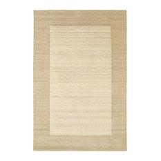 """Kaleen Hand-Tufted Regency Wool Rug, Linen, 9'6""""x13'"""