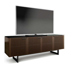 BDI - Corridor Media Center by BDI, Chocolate Stained Walnut - Entertainment Centers and Tv Stands