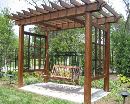 SaveEmail - Best Swing Arbor Design Ideas & Remodel Pictures Houzz