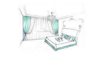Современная классика: текстильное оформление квартиры