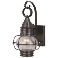 """Vaxcel T0280 Chatham - 8"""" One Light Outdoor Wall Lantren"""