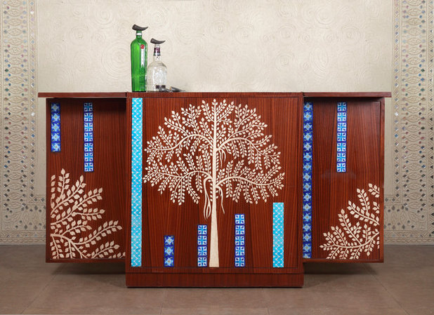 Eclectic Decorative Chests & Cabinets by Baaya Design