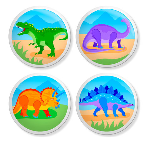 ... Knobs/Pulls Hardware For Kids - Dinosaur - Cabinet And Drawer Knobs