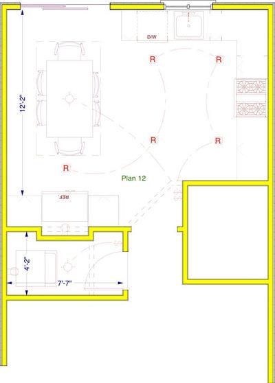 Kitchen Makeover floorplan