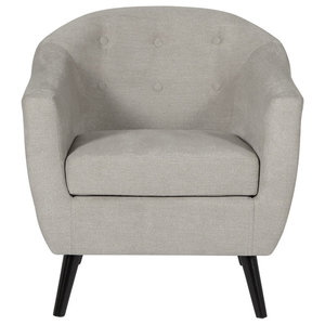 Evie Occasional Chair, Grey