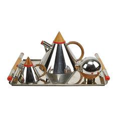 Consigned Midcentury Laslo Towle Futura Tea Set