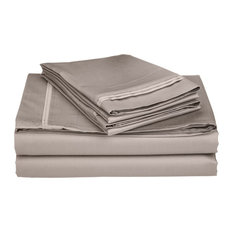 Egyptian Cotton Solid Sheet Set