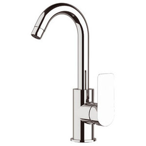 Infinity Chrome Plated One-Hole Sink Mixer Tap, 29.20 cm
