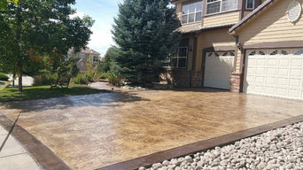 Residential Stamped Concrete Patios and Driveways
