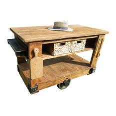 wes dalgo llc rustic kitchen island cart with butcher block top brown kitchen