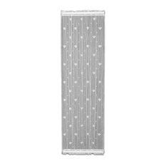 "Bee Sidelight Panel, White, 22""x38"""