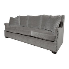 Universal Furniture Company - Universal Furniture Curated Connor Upholstered Sofa, Gray - Sofas