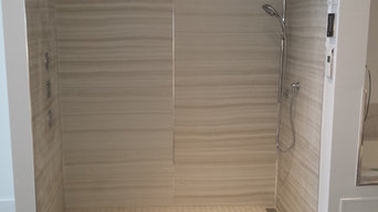 Powell Plumbing Showroom Custom Shower