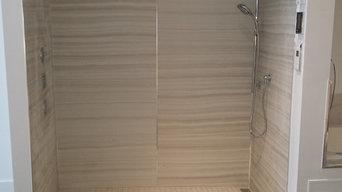 Powell Plumbing Showroom Custom Shower
