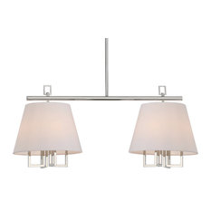 Libby Langdon for Crystorama Westwood 8-Light Polished Nickel Pend