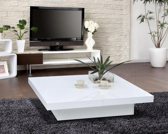Contemporary Square Coffee Tables contemporary and modern coffee tables