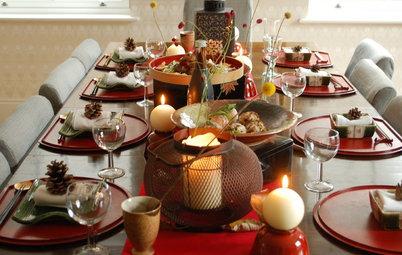 月に見立てた「丸い料理」で楽しむ、秋のお月見テーブル