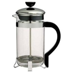 Primula Borosilicate Glass Classic Coffee Press, 8-Cup, Chrome