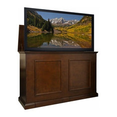 "Touchstone - Grand Elevate Anyroom Lift Cabinet For 60"" Flat Screen Tv, Espresso - Entertainment Centers and Tv Stands"