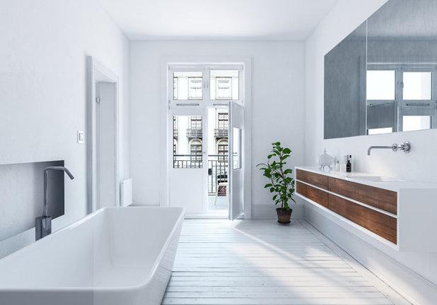 Contemporáneo Cuarto de baño by Veronica Leone - Llule Design