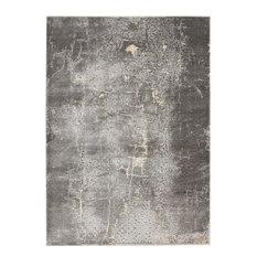 "Kathy Ireland KI Heritage KI353 Charcoal Rug, 8'x10'5"""
