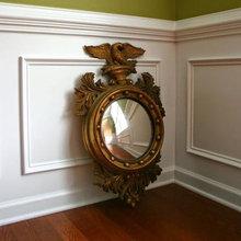 Design Reflection No. 1 - Federal Style Bullseye Mirror