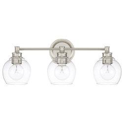 Vintage Industrial Bathroom Vanity Lighting by Capital Lighting Fixture Co
