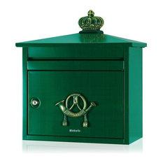 Postbox B210 - Green