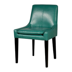 Chase Bonded Leather Chair, Turquoise