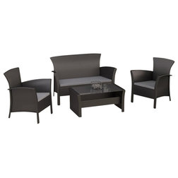 Inspirational Contemporary Outdoor Lounge Sets by Homesquare