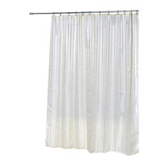 black and white striped shower curtain. EVIDECO  Shower Curtain Polyester Ecru Shiny Vertical Stripes Curtains Yellow White Striped Houzz