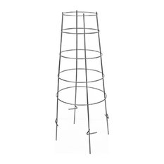 """Panacea 89703TV Inverted Gauge Plant Support and Tomato Cage Green Set of 5, 42"""""""