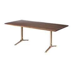 Andrew Dining Table Seared Gold