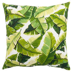 Tropical Outdoor Cushions And Pillows by Temerity Concepts