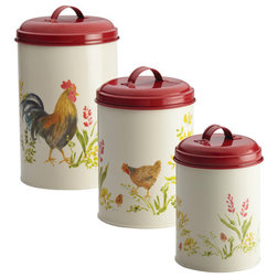 Farmhouse Kitchen Canisters And Jars by Meyer Corporation