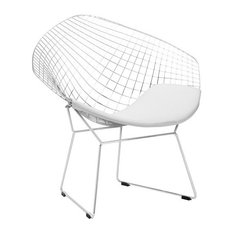 Poly and Bark Morph Lounge Chair, White