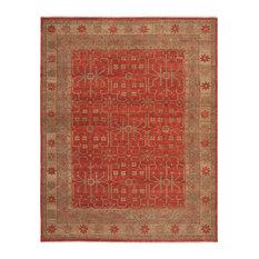 Safavieh Camille Oushak Rug, Red, 9'x12'