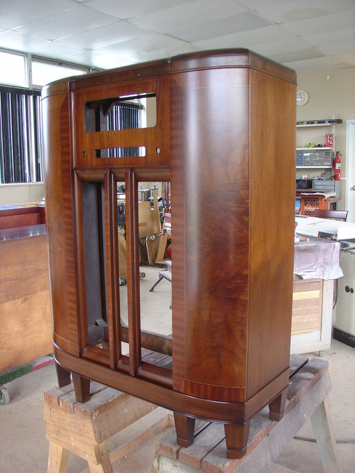 Antique Radio Cabinets Restoration/Refinishing