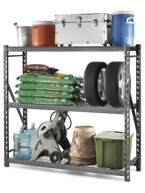 gladiator rack shelving gars774szg utility shelves - Gladiator Shelving