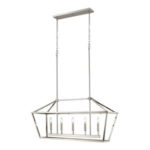 Millennium Lighting Corona Pendant, Satin Nickel
