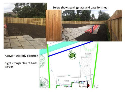 Design for a north facing garden | Houzz UK