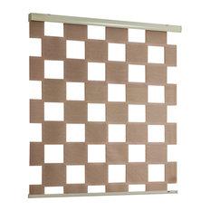 Cube Zebra Blind, Brown