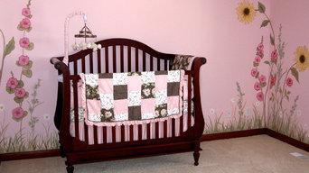 Nursery - Child's Room -  Custom Mural