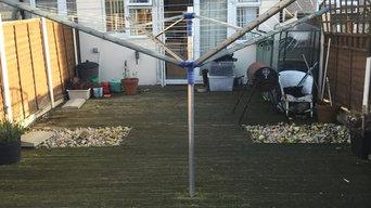 Complete garden change