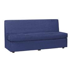 Howard Elliott Collection   Bella Royal Blue Slipper Sofa Cover   Sofas