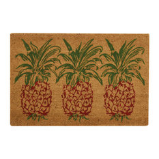 Nourison - Waverly Greetings Collection Pineapple Accent Rug, Orange, 2'x3' - Doormats