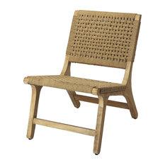 Tilden Woven Jute Accent Chair
