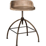District Stool Industrial Bar Stools And Counter