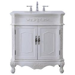 Victorian Bathroom Vanities And Sink Consoles by Elegant Furniture & Lighting