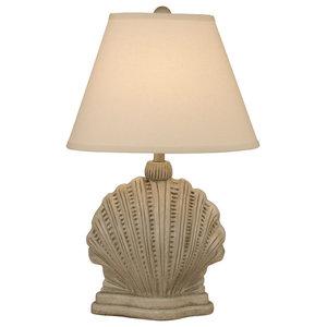 Seastone Mini Scallop Table Lamp